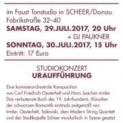 Faust Studio Concert